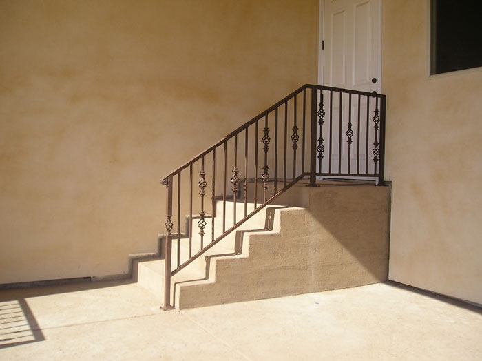 Wrought Iron Stair Railings Sacramento, Staircase Railings