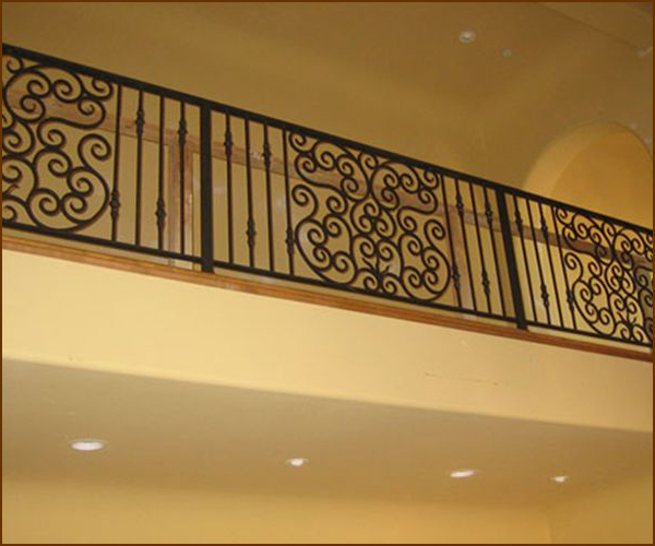 Wrought Iron Balcony Railing Sacramento
